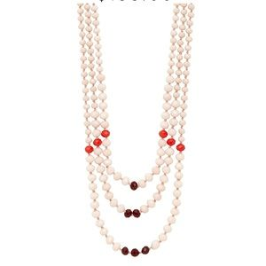 NIB India Hicks Pink Sands Necklace